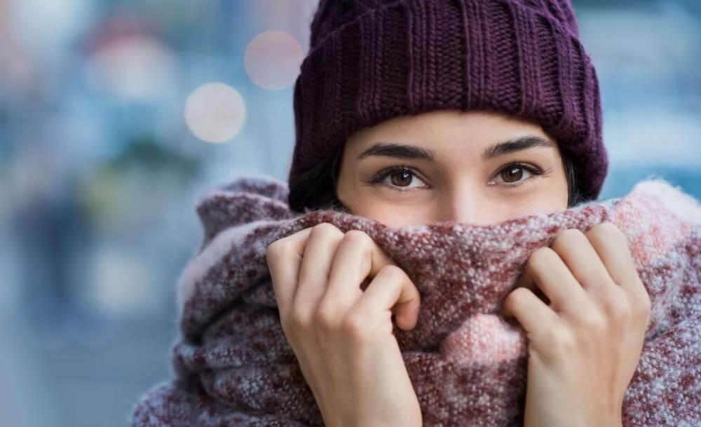 Eczema symptoms get worse in winter.