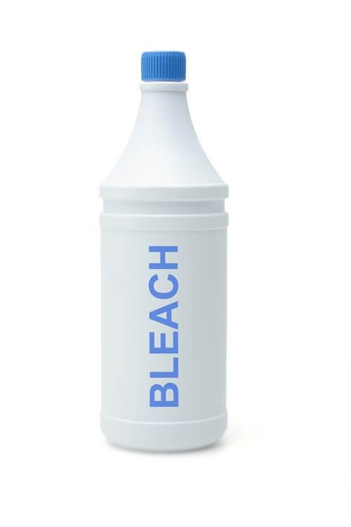 Bleach bath for eczema treatment.