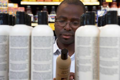 Shampoo to treat scalp psoriasis.