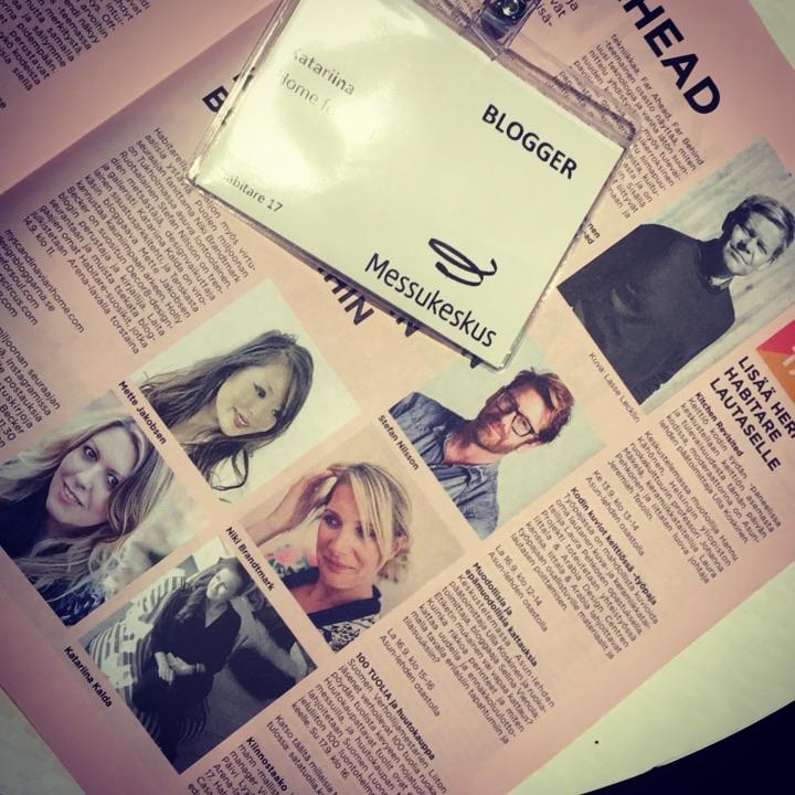 Habitare bloggers 2017