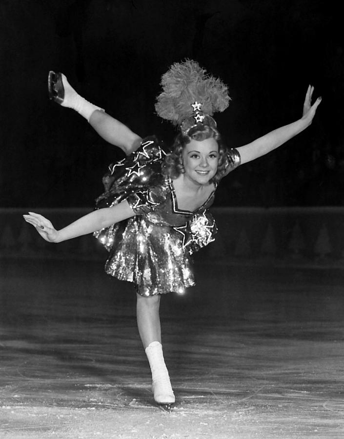 """Mont and his wife, Edith, invented the """"fish-hook hairpin"""" for the ice skating sweetheart,actress,Sonja Henie."""