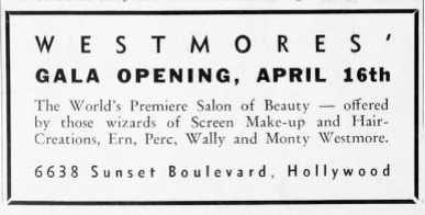 Newspaper clipping, Gala Opening, April 16,1935.