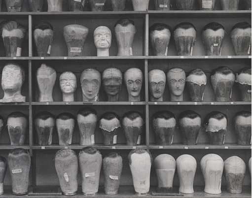 The Max Factor Company Wig Room, 1934.