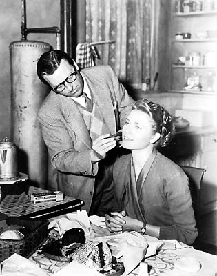 Wally with actress, Grace Kelly.