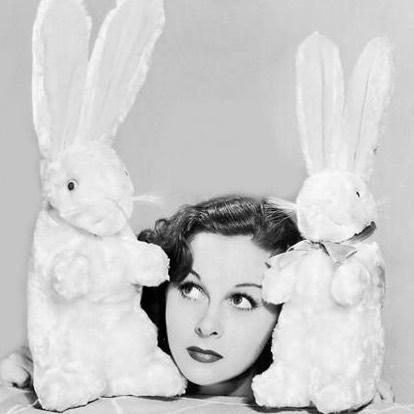 Happy Easter! #susanheyward #westmoresofhollywood #easter