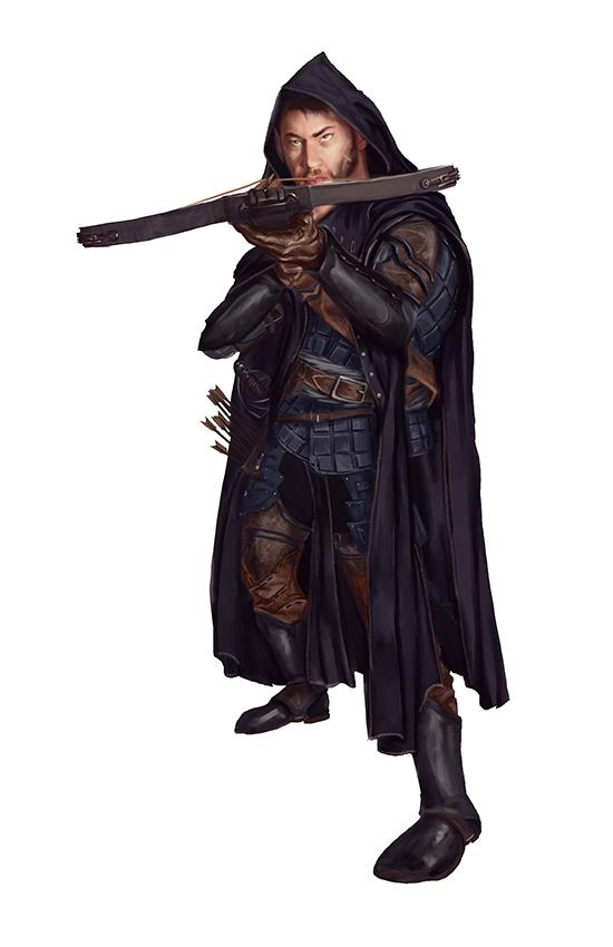 Half - Elven Rogue