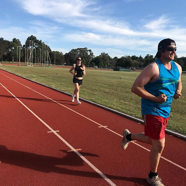 RUNFIT is back for another year and tonight we hit the track for a tempo building session. Well done legends!