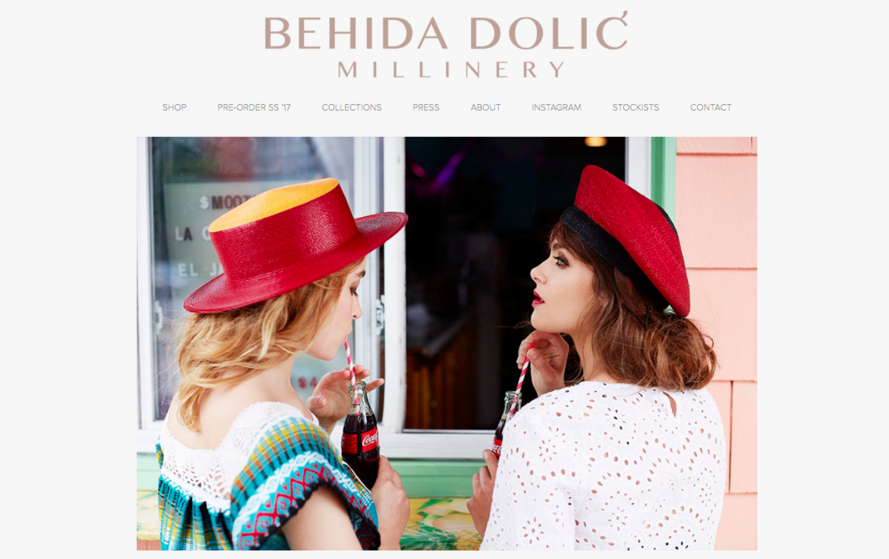 CLICK THE IMAGE ABOVE TO VISIT AND EXPLORE BEHIDA DOLIC'S WEBSITE
