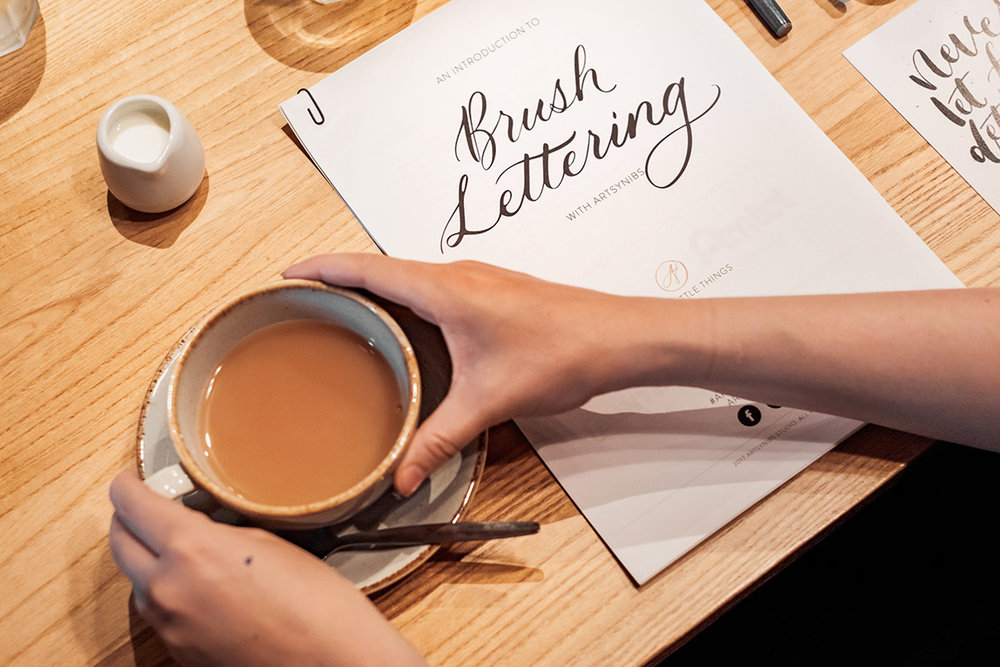 Brush Lettering for Beginners