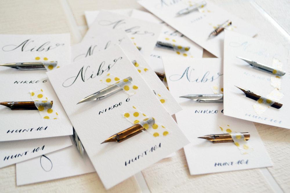 Intro to modern calligraphy workshop nantwich uk u artsynibs