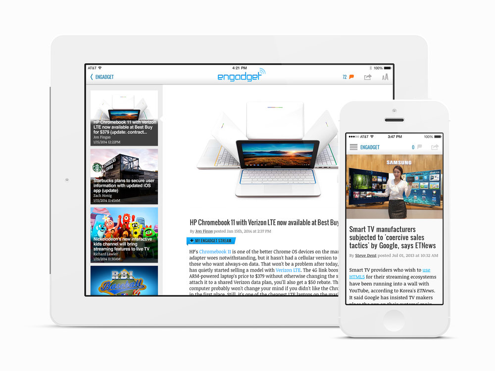 iOS Article View