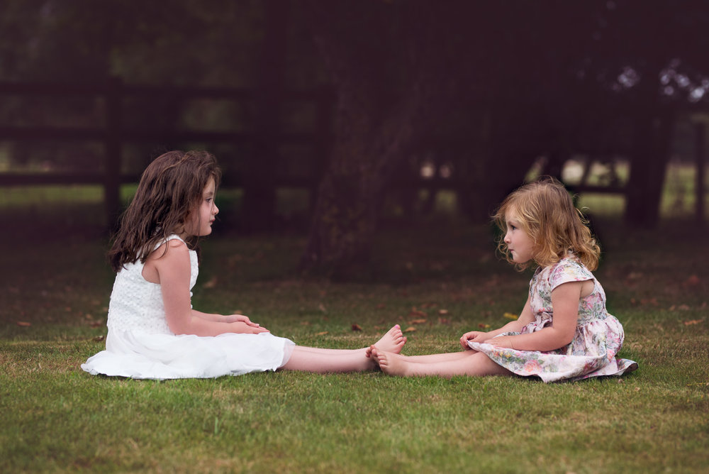 Sisters together | Children's Photography
