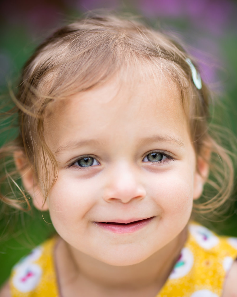 Toddler close up headshot | Children's Photography
