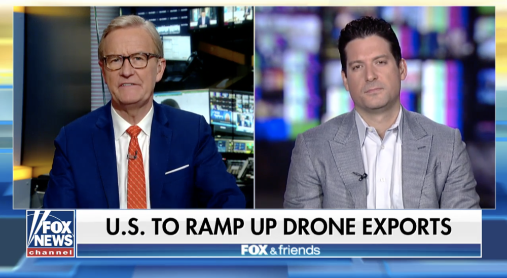 Brett Velicovich on Fox & Friends discussing drone technology