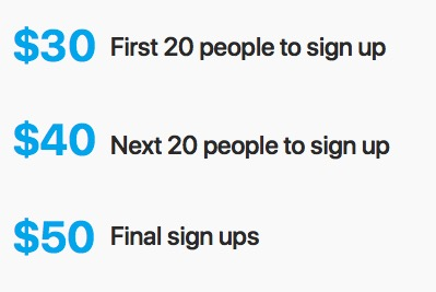 Sign Up - As per previous challenges we are giving the option to compete as an individual or a partnered challenge. If you don't have a partner we can match you up with someone.Sign up prices rise as we get closer to the start date.