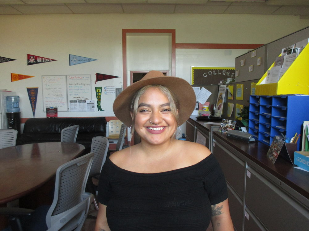 Rebeca Mayen is an SF State student currently finishing her last year at SF State, majoring in History, and minoring in Education. She is a College Success Advisor this year.