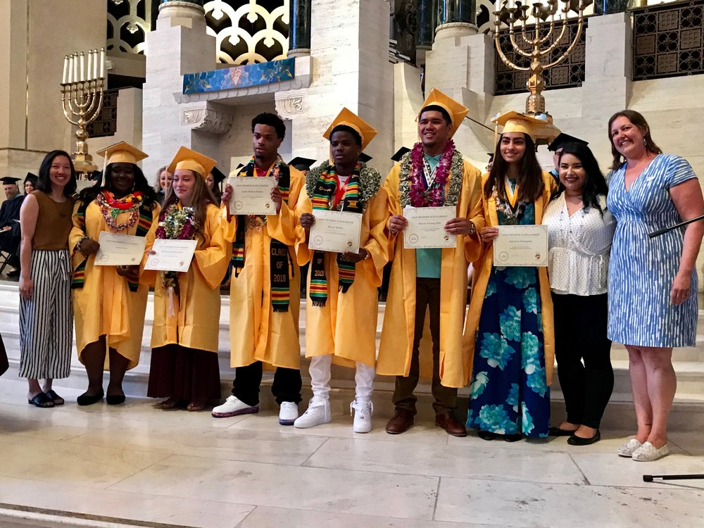 Congratulations to our Cohort 7, part of Mission High's Class of 2018!!
