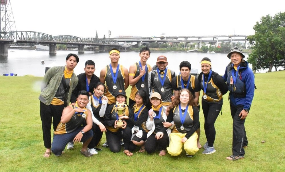 Congratulations to the  MHS Dragonboaters  who started their summer in Portland, Oregon at the Rose Festival and won a first place trophy!