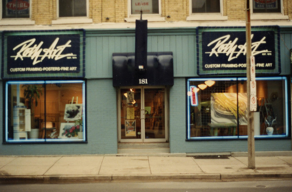 Michael Gibson Gallery on King St. (Image provided By Michael Gibson)