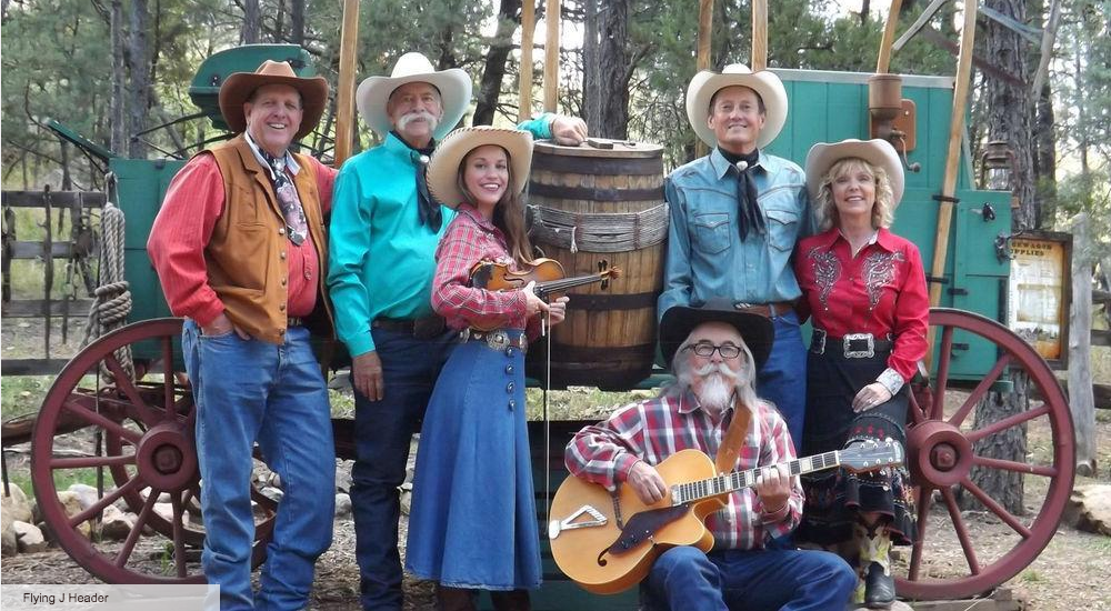 For a true western experience join the Flying J Wranglers, complete with gunfights, pony rides, stage show, gold panning, gift shops and a chuckwagon style BBQ dinner