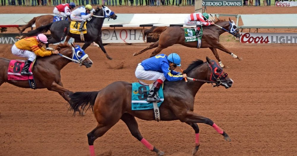 Ruidoso Downs Racetrack hosts both Thoroughbred and Quarter Horse racing, notably the All American Futurity, the richest race in Quarter Horse racing.