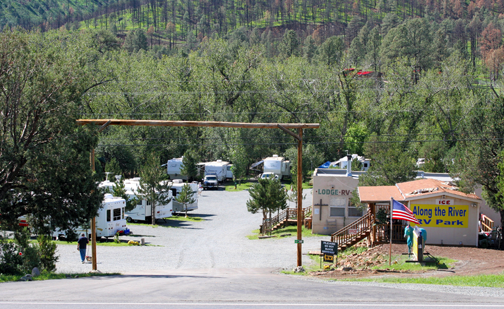 PHOTO: Along the River RV Park