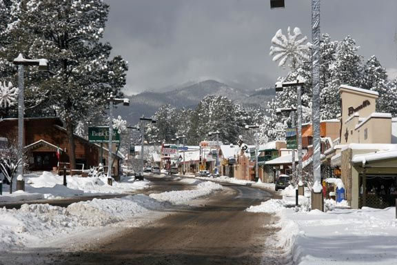 Ruidoso Midtown in Winter