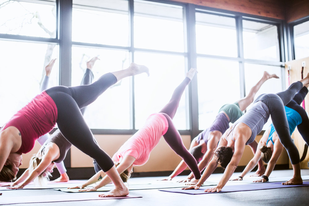 Daily yoga classes for all levels are available at Blue Lotus Day Spa & Yoga Studio in addition to a full line of and AVEDA personal care products.
