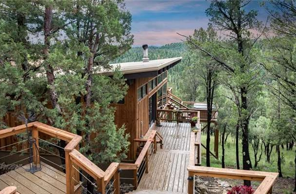 Spend time enjoying the views from the deck. Grill outside and then head for the hot tub.