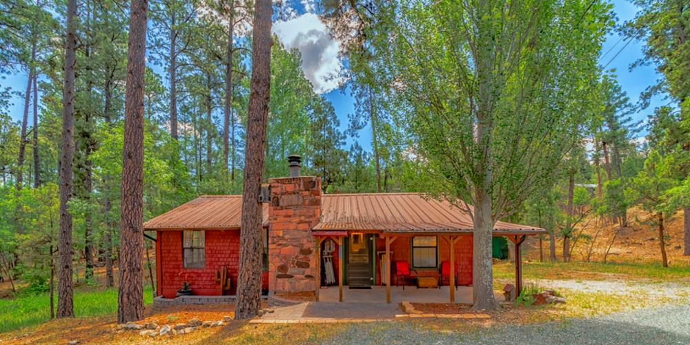 Ruidoso vacation cabin at Storybrook Cabins.
