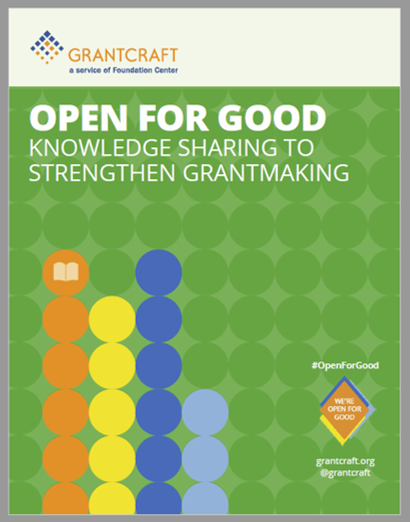 Knowledge sharing guide to strengthen grantmaking