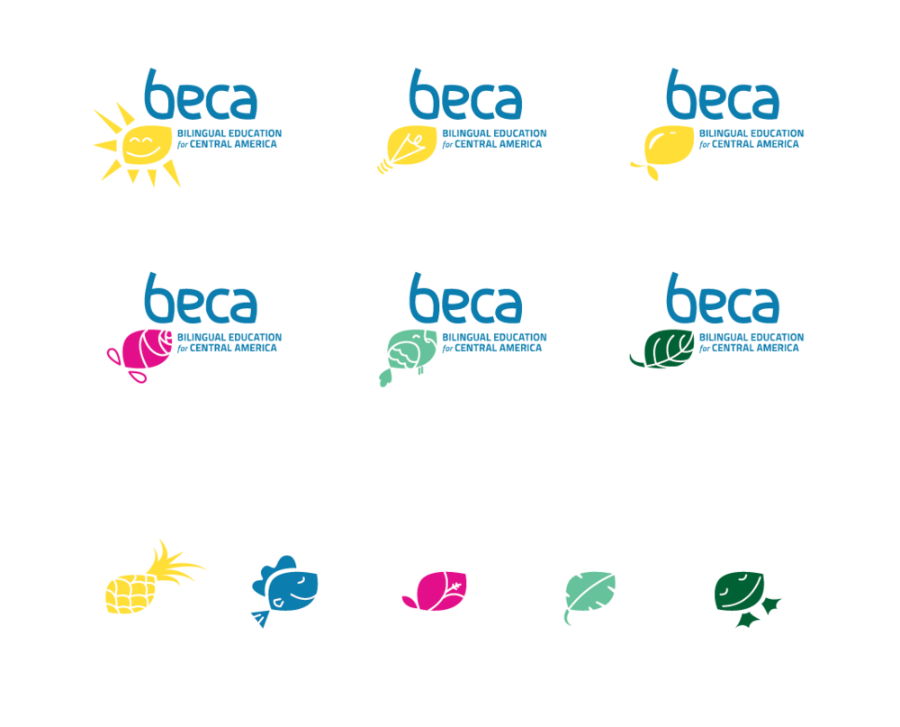 We expanded the logo mark and color palette into a set of secondary marks and icons. These served as brand elements that kept communications fresh, fun, and reminded volunteers and donors of the wonderful region of the world the organization focus on.