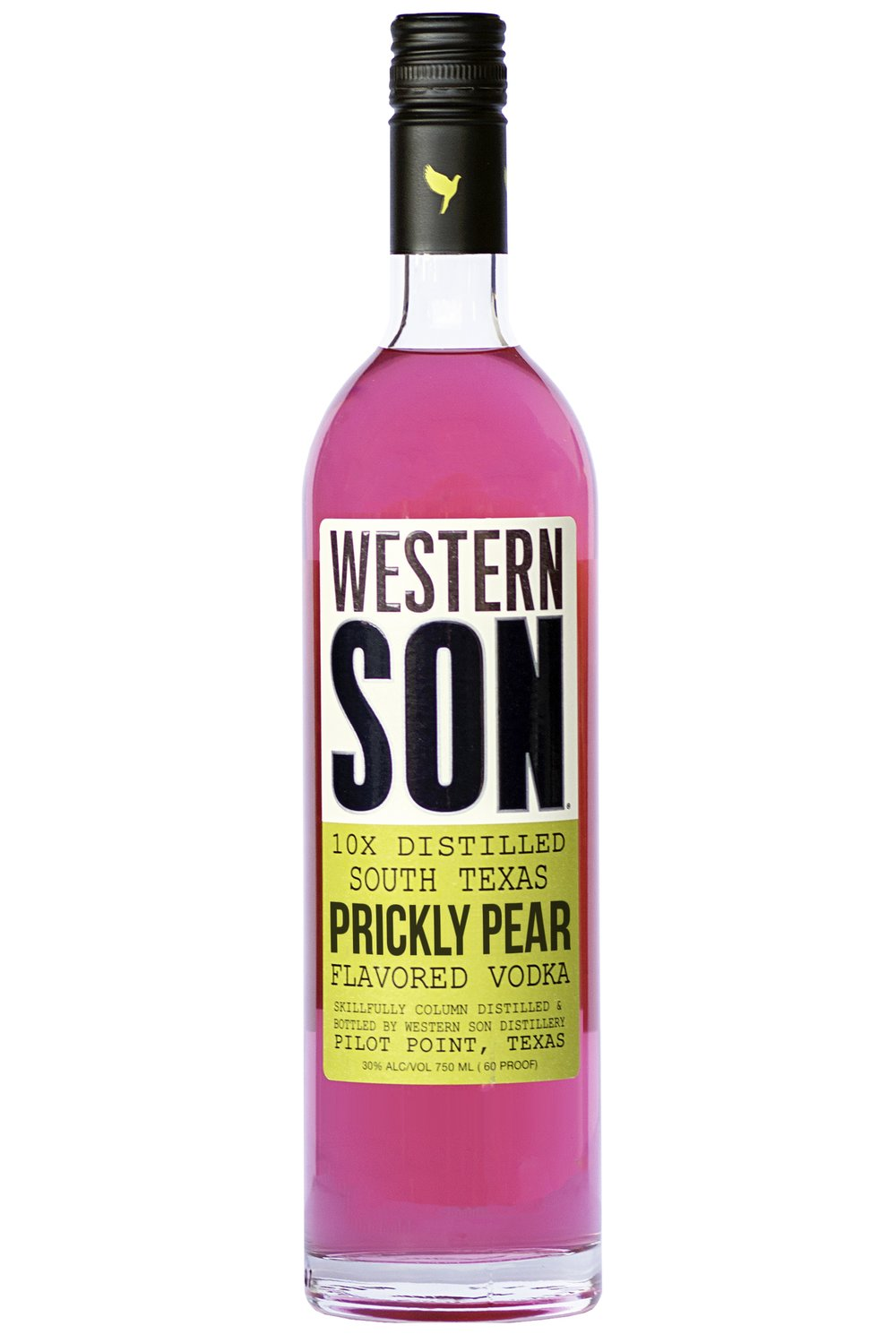 Prickly Pear Margarita   1 oz. Western Son Prickly Pear Vodka 1 oz. silver tequila 1 oz. lime juice 1 oz. simple syrup/agave