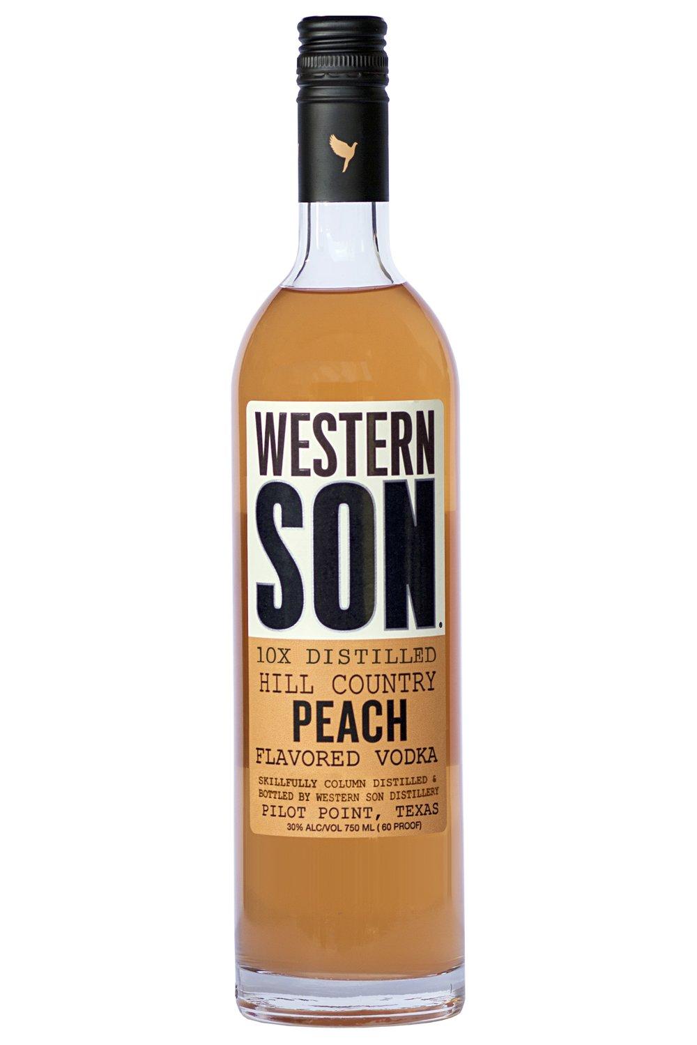 Hill Country Tea  1 oz. Western Son Peach Vodka  2 oz. unsweet tea  squeeze of lemon