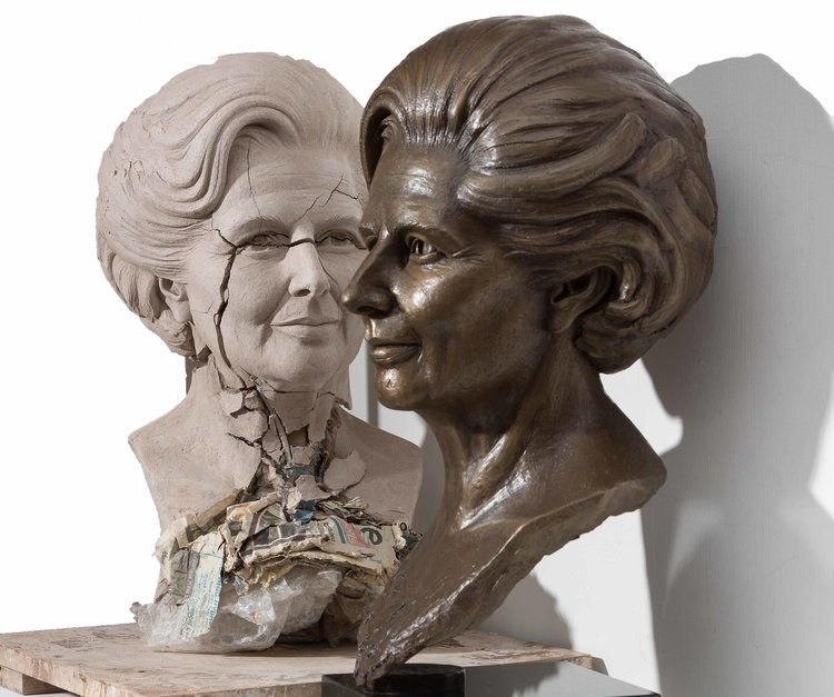 Margaret, original and bronze by Lisa Hawker