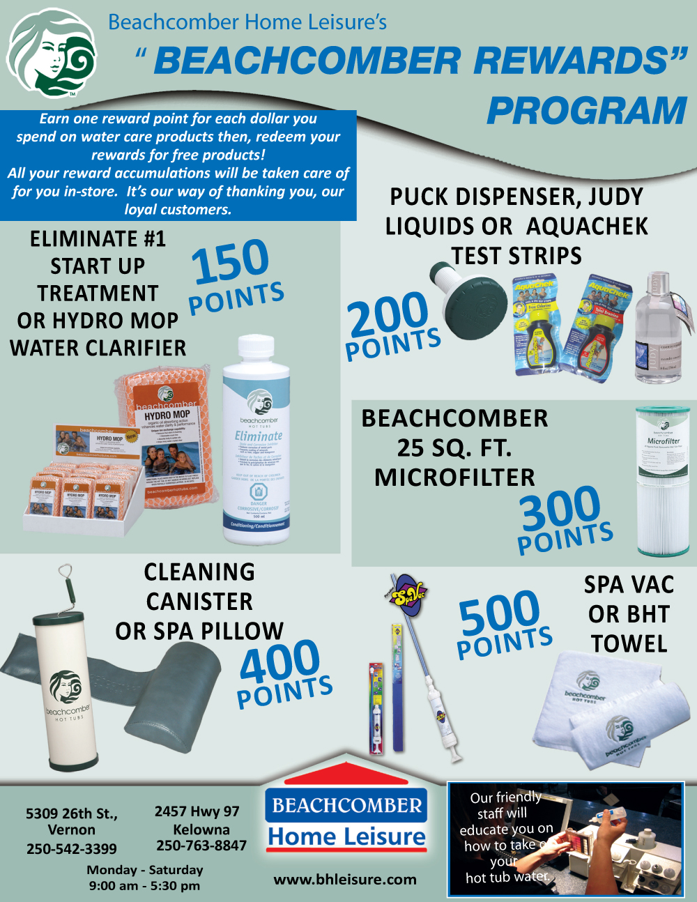 Beachcomber Rewards Program