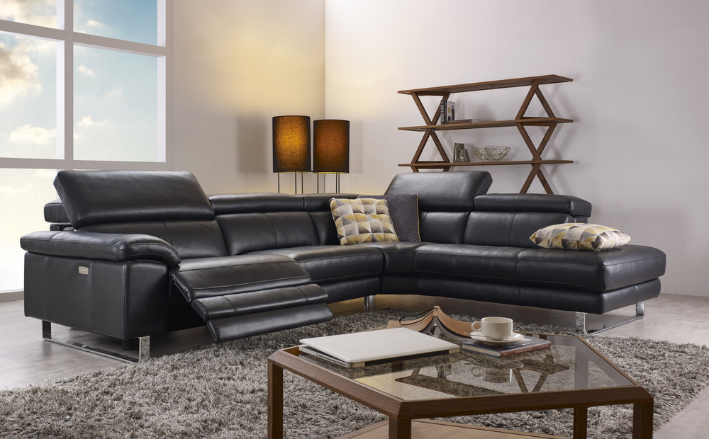 Leather HTL Sectional