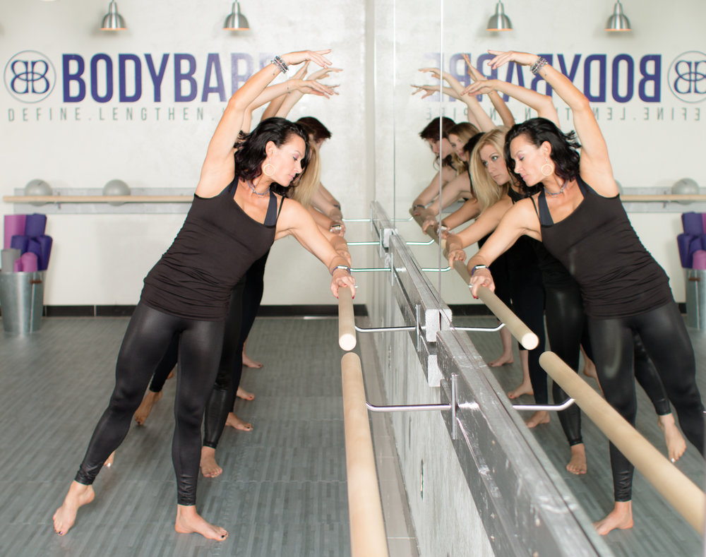 Stretch at the Barre
