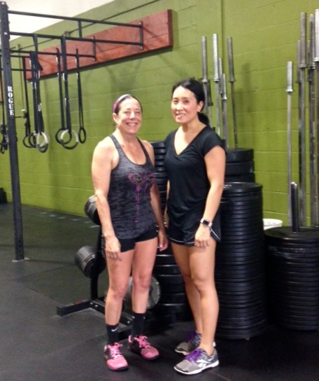 My partner motivates me to show up for the hardest challenges!