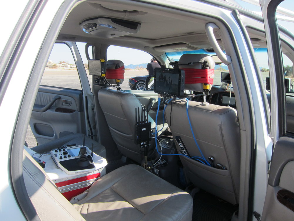 Sequoia Camera Car