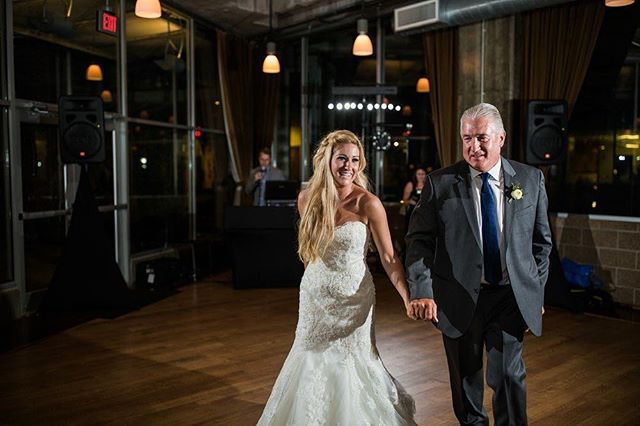 A proud father beaming with joy, walking hand in hand to dance with his daughter. These are the moments we work for! ❤️ #iegkc