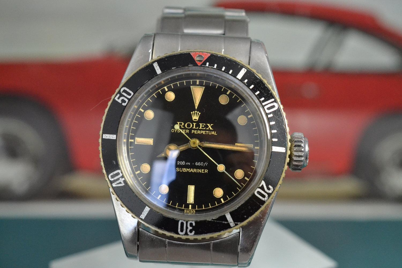 1958 Rolex Submariner 6538 Big Crown | Glossy Dial with Big Logo Bracelet