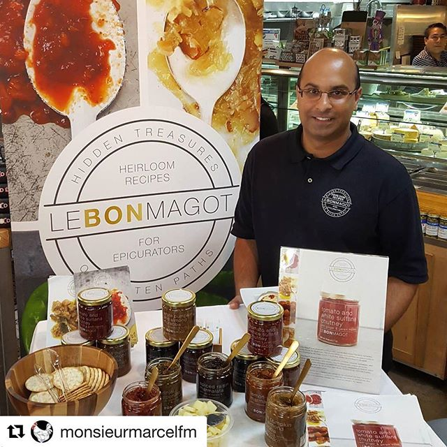 What is Yogi and Boo-Boo's favorite cheese? CamemBEAR. We'll be at Monsieur Marcel in LA until 4pm today, so be sure to pop by for a taste! #Repost @monsieurmarcelfm (@get_repost) ・・・ Artisan, custom-blended spiced @lebonmagot is here today until 3 p.m. sharing their chutneys -- all inspired by their African, Middle East and South Asian heritage. Rohit paired these delicious, versatile sauces with mild manchego, available in the Cheese Shop. Exquisite! #lebonmagot #chutney #lagourmet #farmersmarketla