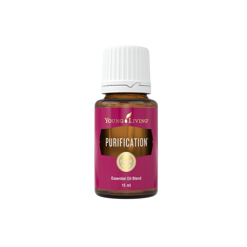 """PURIFICATION ESSENTIAL OIL    This oil is the most popular for eliminating """"stanky"""" odors in your kitchen and bathroom. Add 4 drops in the Desert Mist Diffuser, or add 2 drops to a cotton ball and place in drawers.   Click here   to read more extensively on this product."""