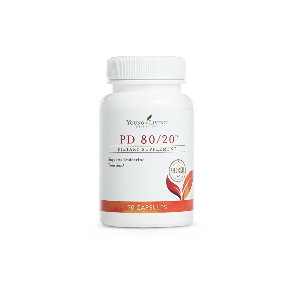 PD 80/20 CAPSULES    Once women reach 20 years old, the body's ability to produce naturally occurring DHEA and pregnenolone begins to decline. Pregnenolone is the key precursor for the body's production of estrogen, DHEA, and progesterone. PD 80/20 has an impact on supporting the endocrine system, hormonal health, as well as memory and mental acuity.   Click here   to learn more about this product.