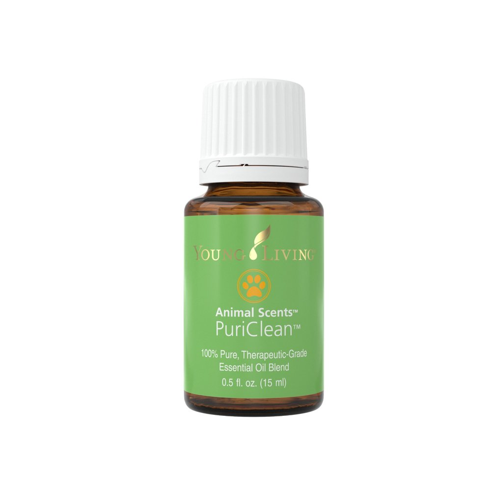 PURICLEAN ESSENTIAL OIL    When it comes to having your animals smelling fresh and clean, this essential oil is a great one to have on hand! Add 1–2 drops topically, or 4-6 drops in your Animal Scents Shampoo or Animal Scents Ointment. Many pet owners like to put 8-10 drops in a 1-oz. spray bottle with distilled water for a quick fur and skin-cleansing spritz. Great for improving the appearance of healthy skin and for occasional flaky skin. Carefully apply according to the size and species of animal. Dilute more for smaller species. A portion of all proceeds from Animal Scents products goes to support Vital Ground, a nonprofit organization dedicated to protecting the habitat of grizzly bears and other wide-roaming wildlife.   Click here   to learn more about this product.