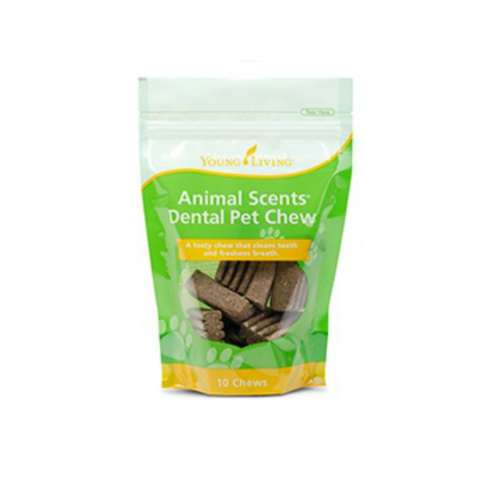 ANIMAL SCENTS DENTAL PET CHEWS    Animal Scents Dental Pet Chews are tasty treats that support oral health with specially designed ridges that gently remove buildup on your pet's teeth. Oral care is just as important for your furry friends as it is for you, and now maintaining a happy and clean mouth is as simple and easy as tossing your pet an Animal Scents Dental Pet Chew! These snacks have no artificial colors and flavors. A portion of all proceeds from Animal Scents products goes to support Vital Ground, a nonprofit organization dedicated to protecting the habitat of grizzly bears and other wide-roaming wildlife.   Click here   to learn more about this product.