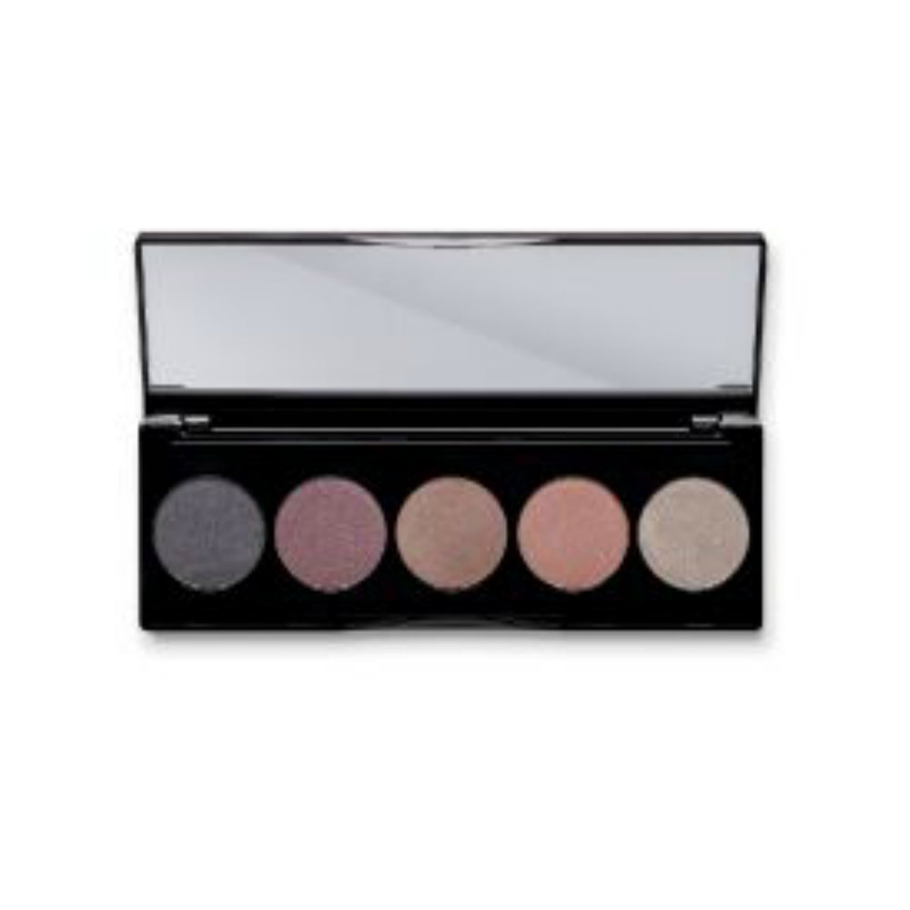 EYESHADOW PALETTE NO. 1    This pressed-powder eyeshadow palette features five rich mineral shadows you can mix and match to create a variety of looks, from subtle to dramatic. Each gorgeous shade is made with a Lavender-infused formula that includes coconut oil and shea butter for a velvety smooth application that easily blends and builds. Contains no nanoparticles, fillers, parabens, or synthetic fragrances.   Click here   to learn more about this product.