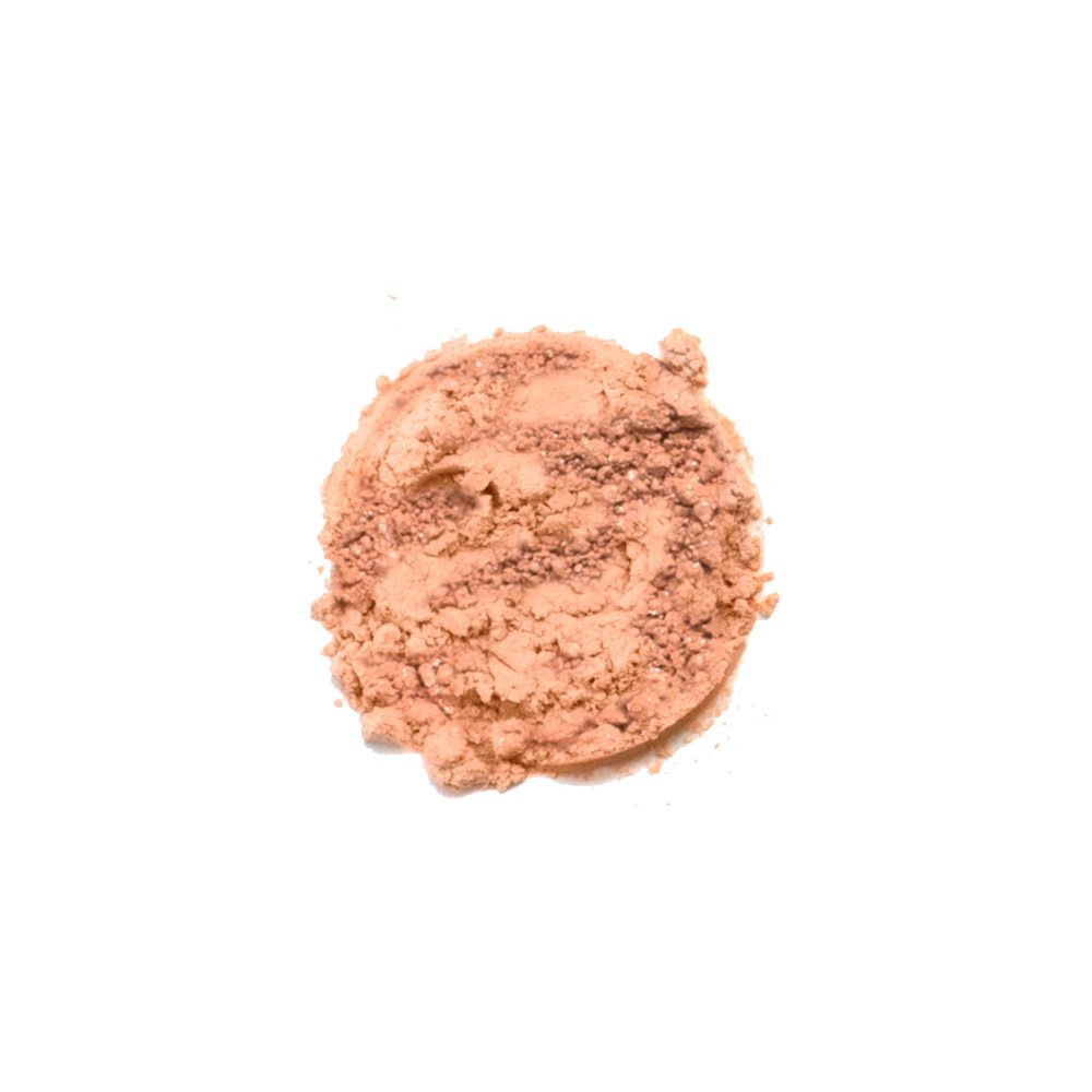 SPOILED EYESHADOW    This shade is a matte light pink color. Savvy Minerals eyeshadows are made with a finely ground mineral base, so they have a smooth, luxurious application and high-quality ingredients. They're formulated without fillers, synthetic fragrances, or parabens. Plus, its long-lasting formula leaves you with a gorgeous look you can wear all day.   Click here   to learn more about this product.
