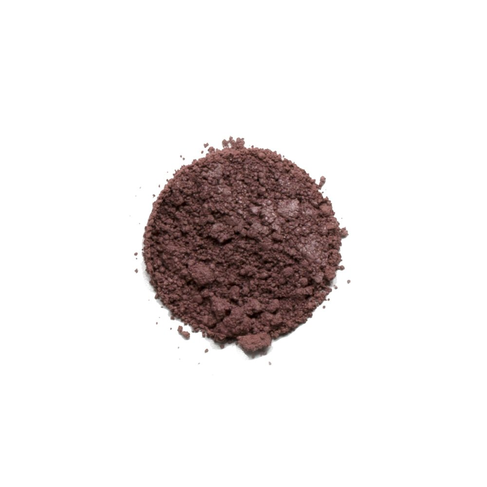 DIFFUSED EYESHADOW    This shade is a matte plum color. Savvy Minerals eyeshadows are made with a finely ground mineral base, so they have a smooth, luxurious application and high-quality ingredients. They're formulated without fillers, synthetic fragrances, or parabens. Plus, its long-lasting formula leaves you with a gorgeous look you can wear all day.   Click here   to learn more about this product.